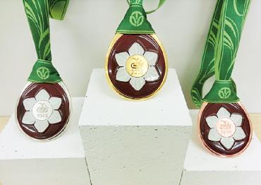 福井しあわせ元気国体 メダル制作