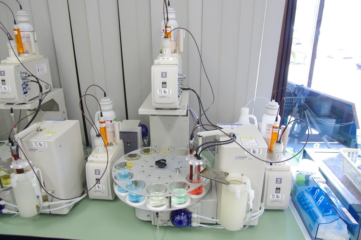 自動滴定分析装置